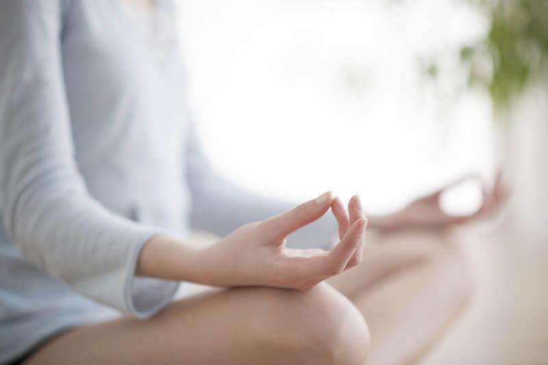 aprender a meditar en las palmas