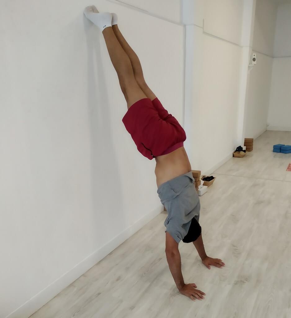 equilibrismo yoga las palmas